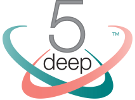 5 deep Logo